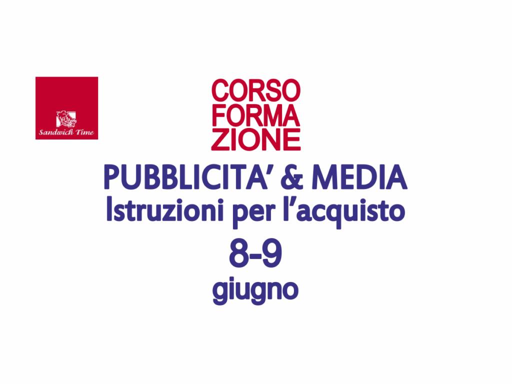 Corso formazione - Pubblicità e Media - Simone Fulimeni - Civitanova Marche
