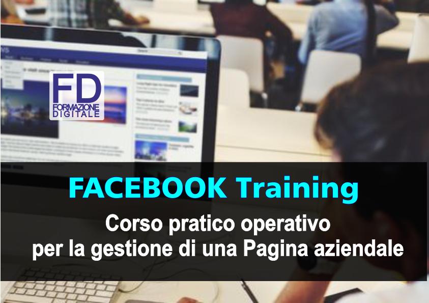 Corso Formazione - Facebook training - Simone Fulmeni - Porto San Giorgio