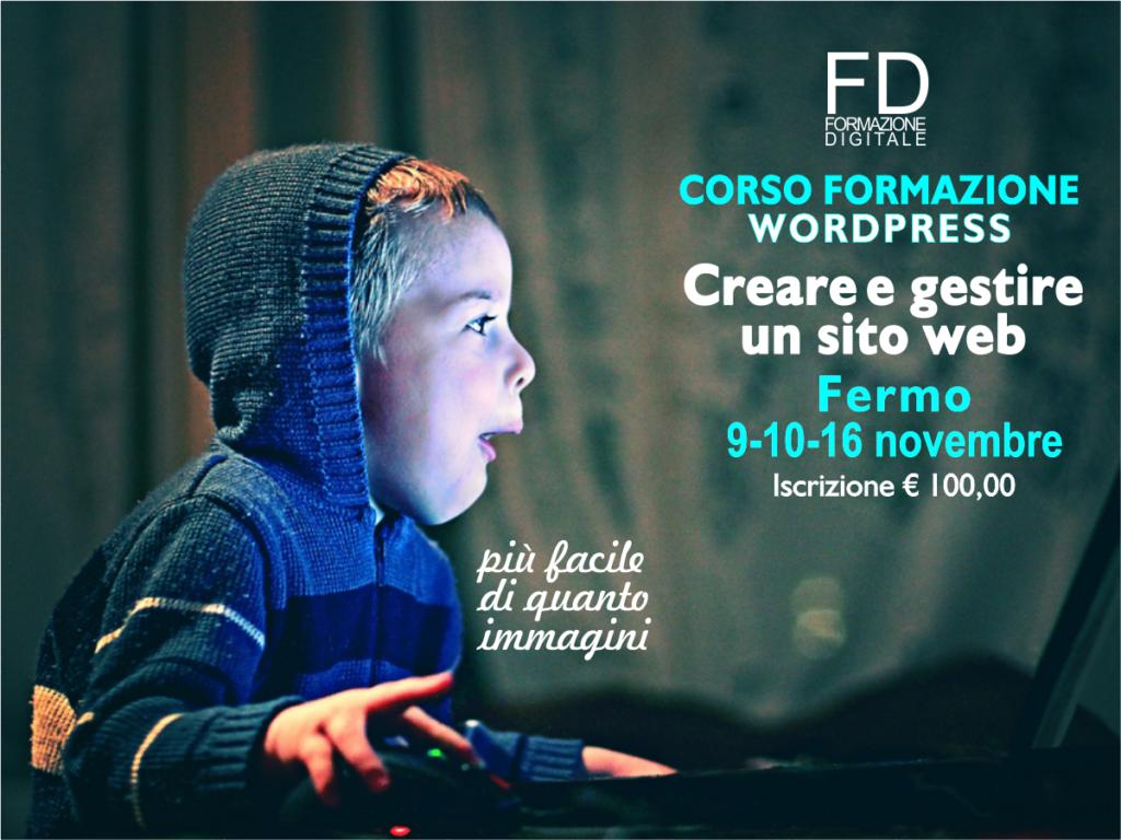 Corso Wordpress - Simone Fulimeni - Consulente digitale - Fermo