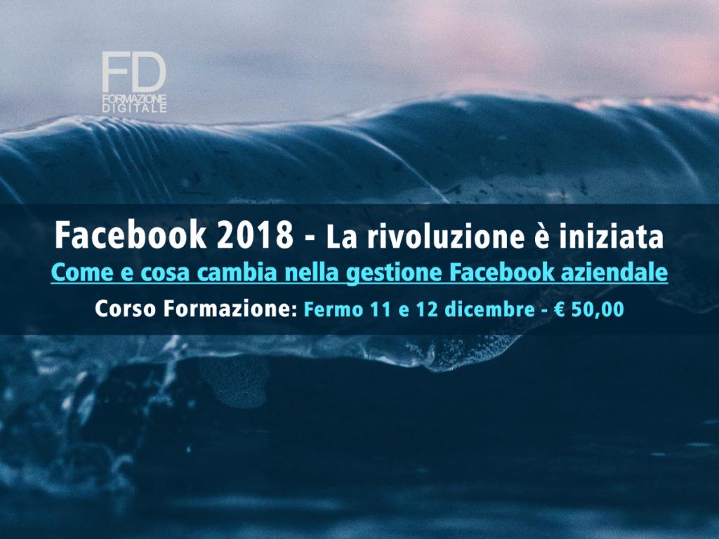 Facebook 2018 - Corso formazione - simone fulimeni - porto san giorgio