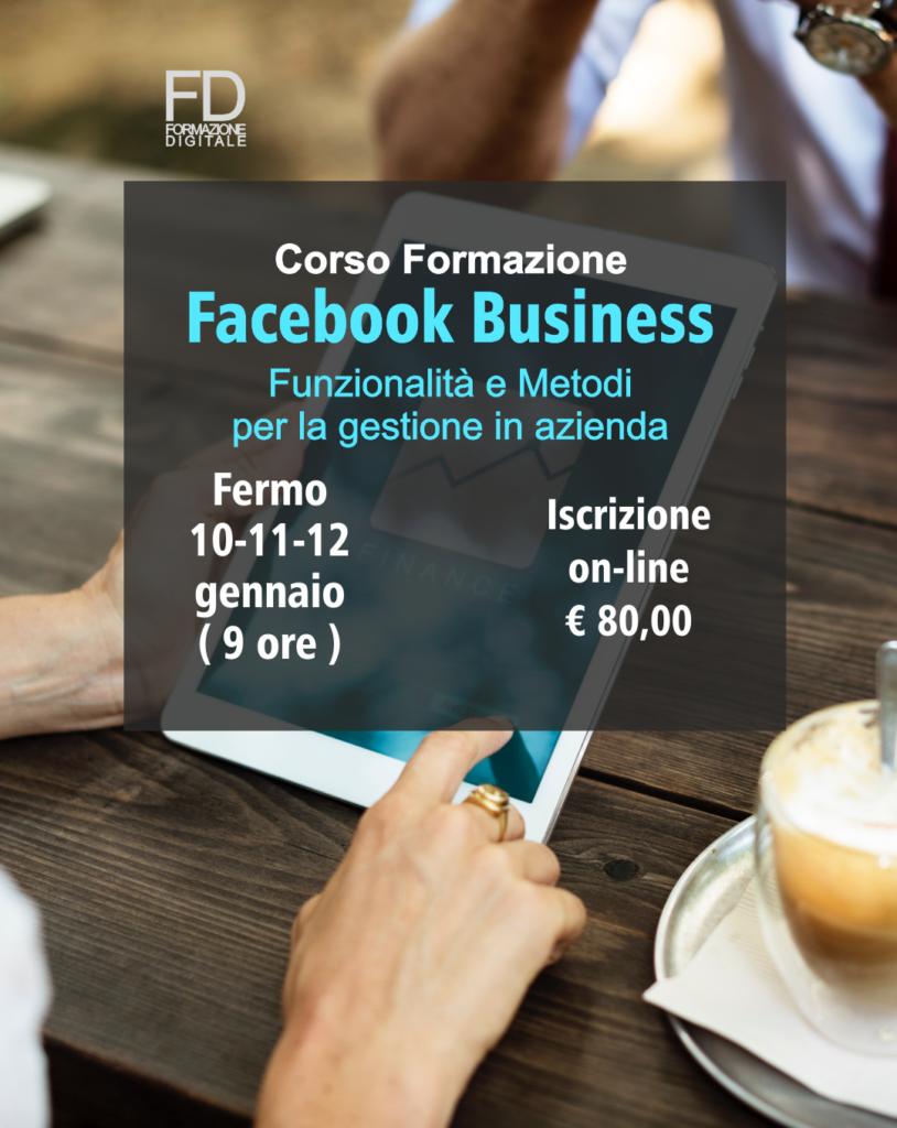 Corso formazione - Facebook - Simone Fulimeni - Fermo