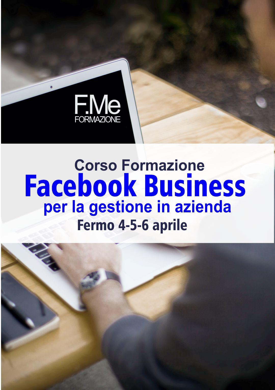 Facebook Business - Corso formazione - Simone Fulimeni - porto san giorgio