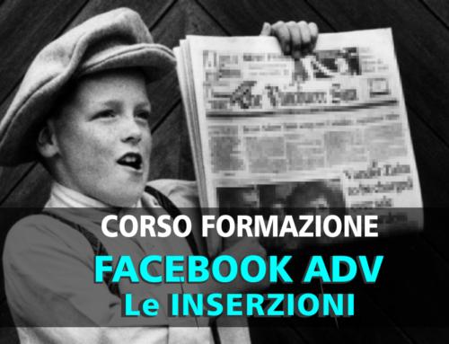 Facebook Adv: le inserzioni