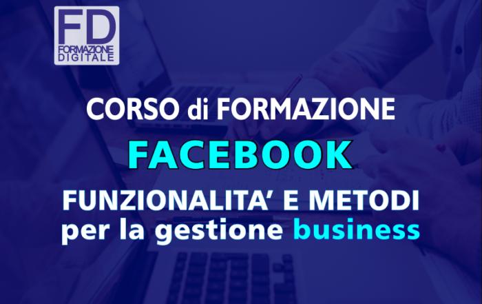 Corso formazione - Facebook Business - Simone Fulimeni - Fermo
