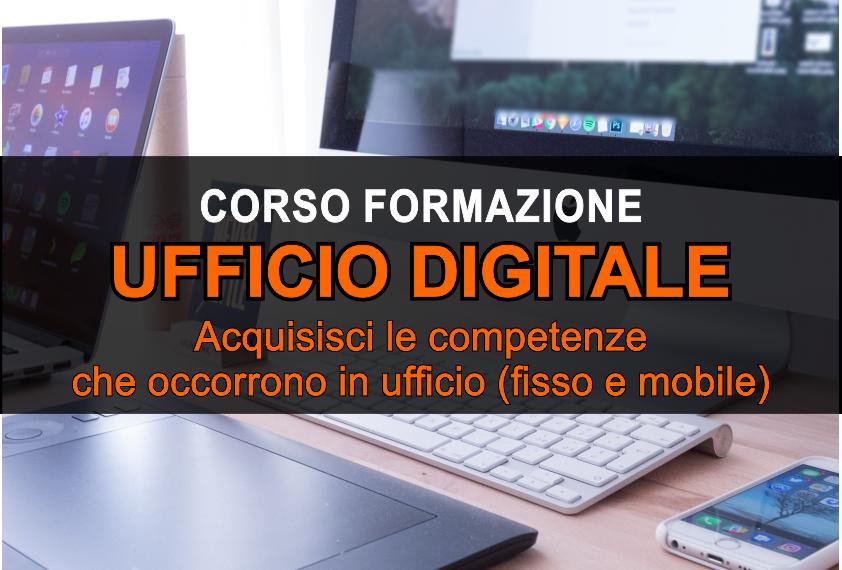 Corso formazione Ufficio digitale - Simone Fulimeni - Porto San Giorgio