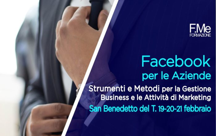 Corso Facebook Business Marketing